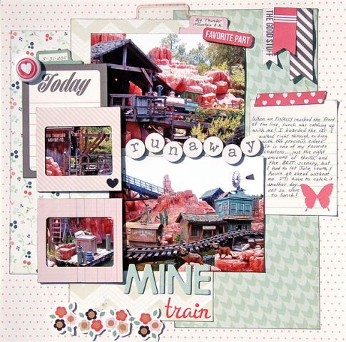 May 2014 kit -Runaway Mine Train - DT Madeline Fox's Gallery - Gallery - Invision Power Board