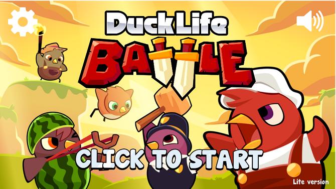 Duck Life Battle Игры, Экраны, Жизнь
