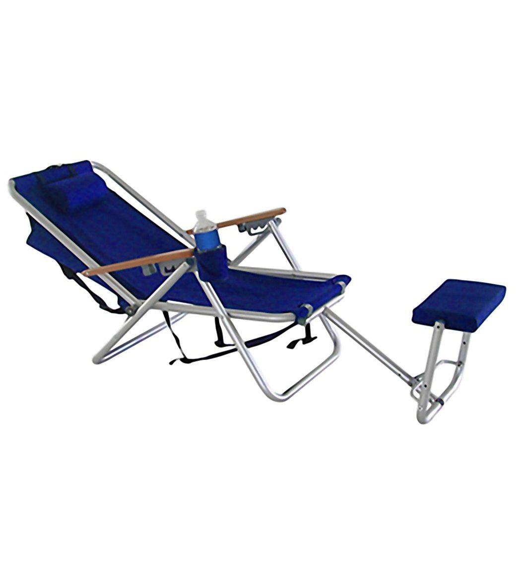 Wearever backpack chair - Wearever Steel Frame Backpack Chair With Footrest Wet Pro