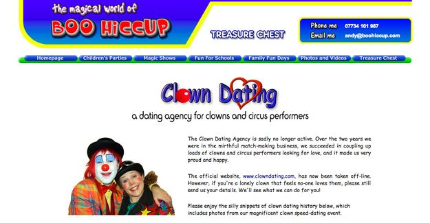 clown dating sites