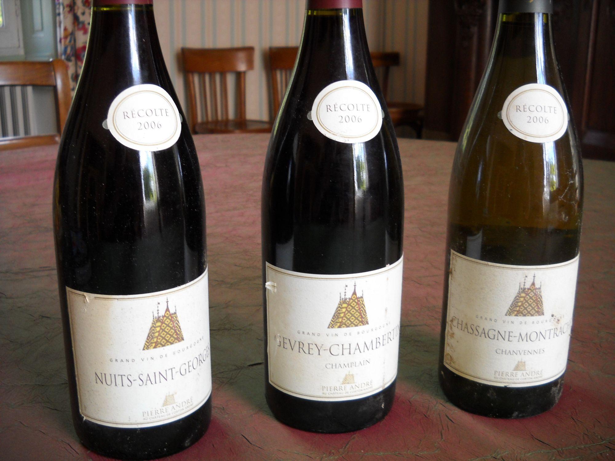 Bourgogne Rouge Gevrey Chambertin Nuit Saint Georges Chassagne Montrachet Wine Bottle Wine Wines