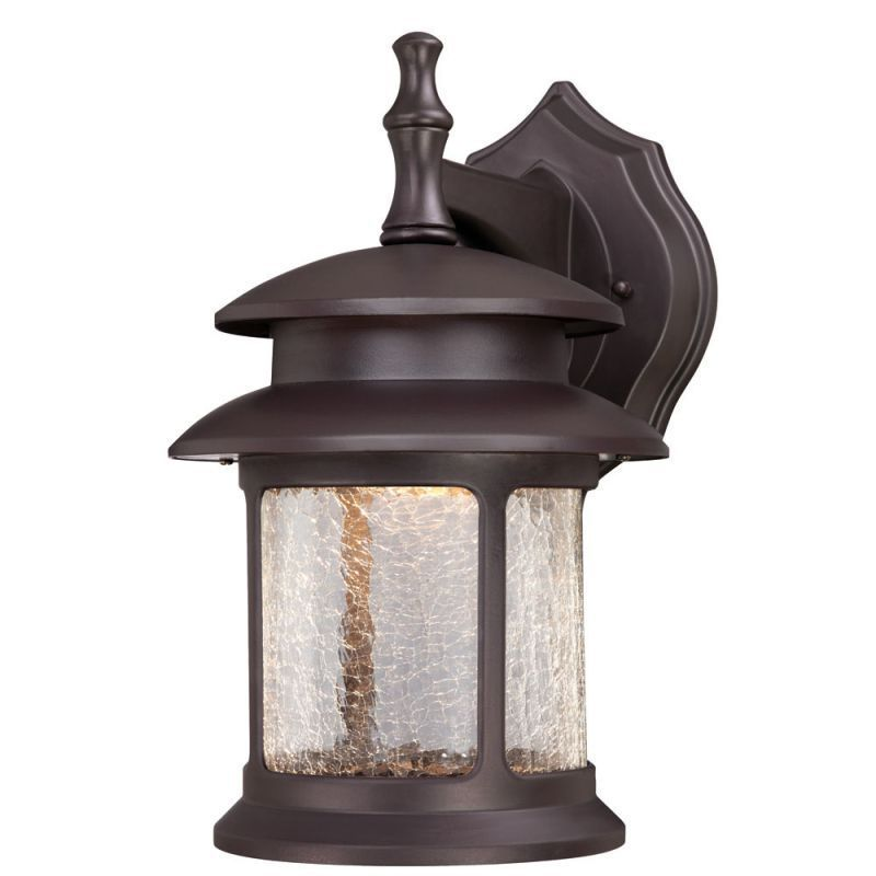 Westinghouse 6400400 14 63 Tall 3 Light Led Outdoor Lantern Wall Sconce Oil Rubbed Bronze