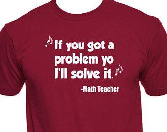 60383e43ea Math Teacher Shirt - Funny Math Teacher T Shirts - Math Teacher Gifts - Math  Teacher T-Shirts - School Shirts - Funny Teacher - Teacher Tee
