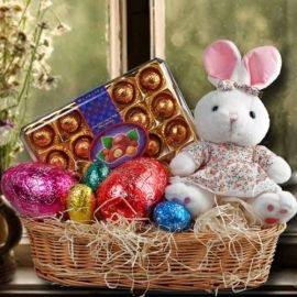 Bunny soft toy easter egg chocolates delivery in singapore1 easter negle Image collections