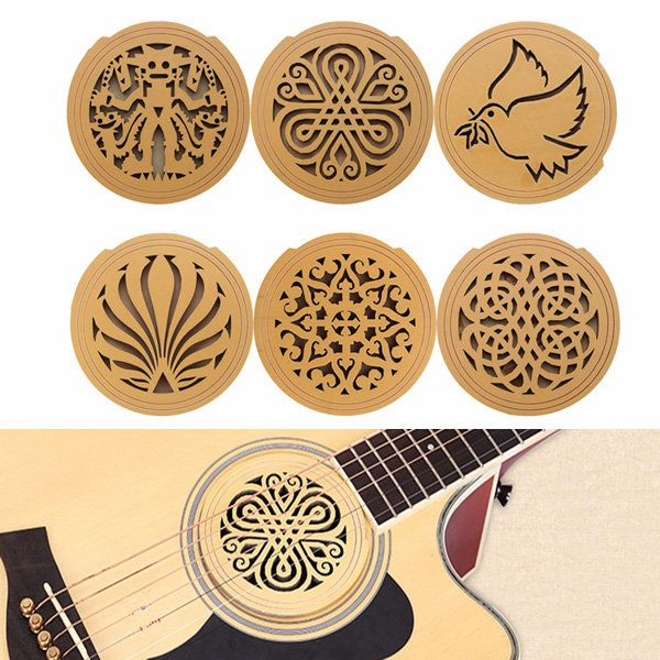 Acoustic Guitar Feedback Buster Soundhole Cover Sound Buffer Hole Protector Acoustic Guitar Guitar Acoustic