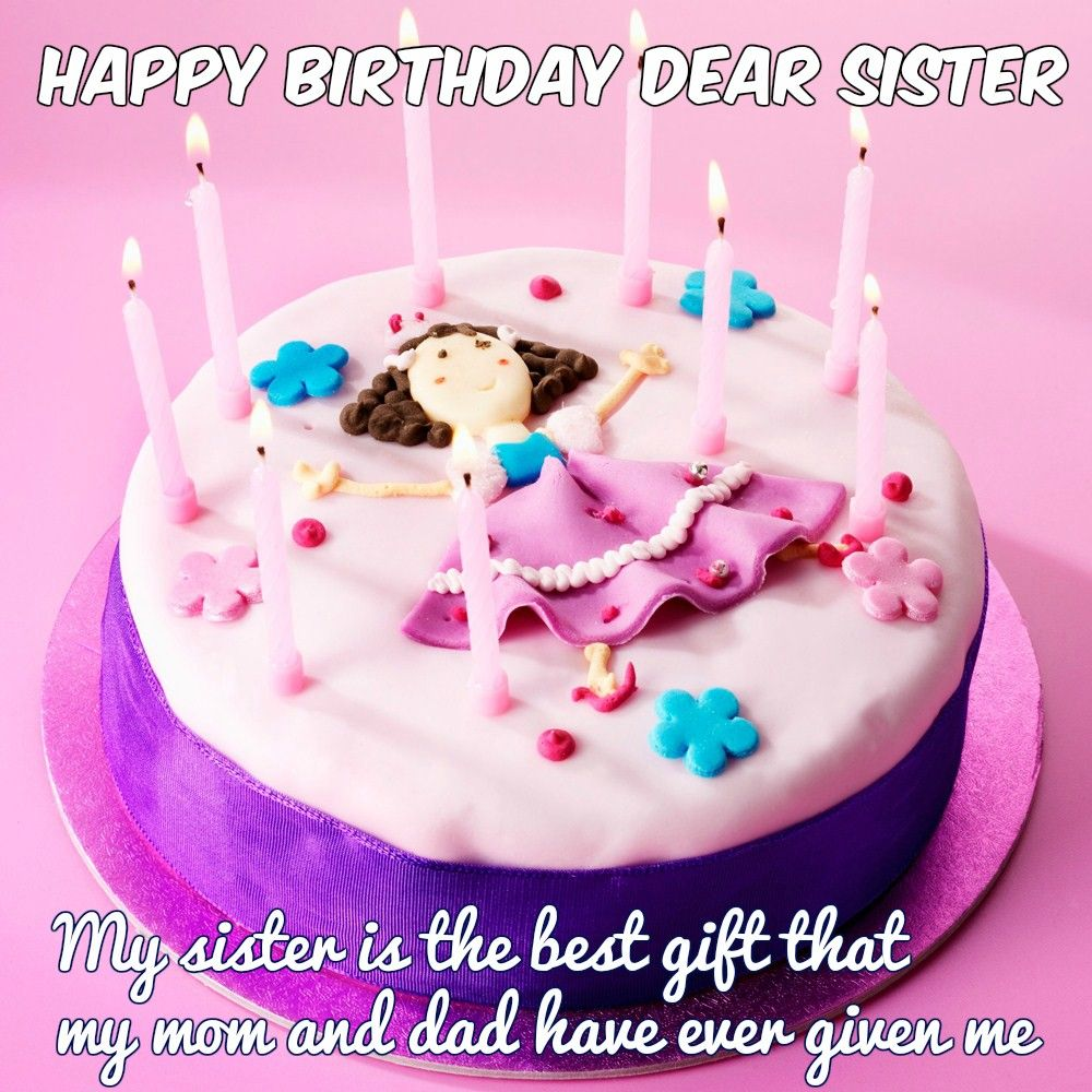 Happy Birthday Wishes For Sister Quotes Images And Memes Happy