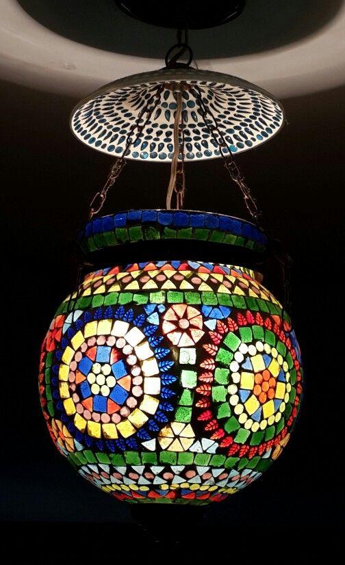 Lampara marroqui lamparas lamparas marroquies - Telas marroquies ...