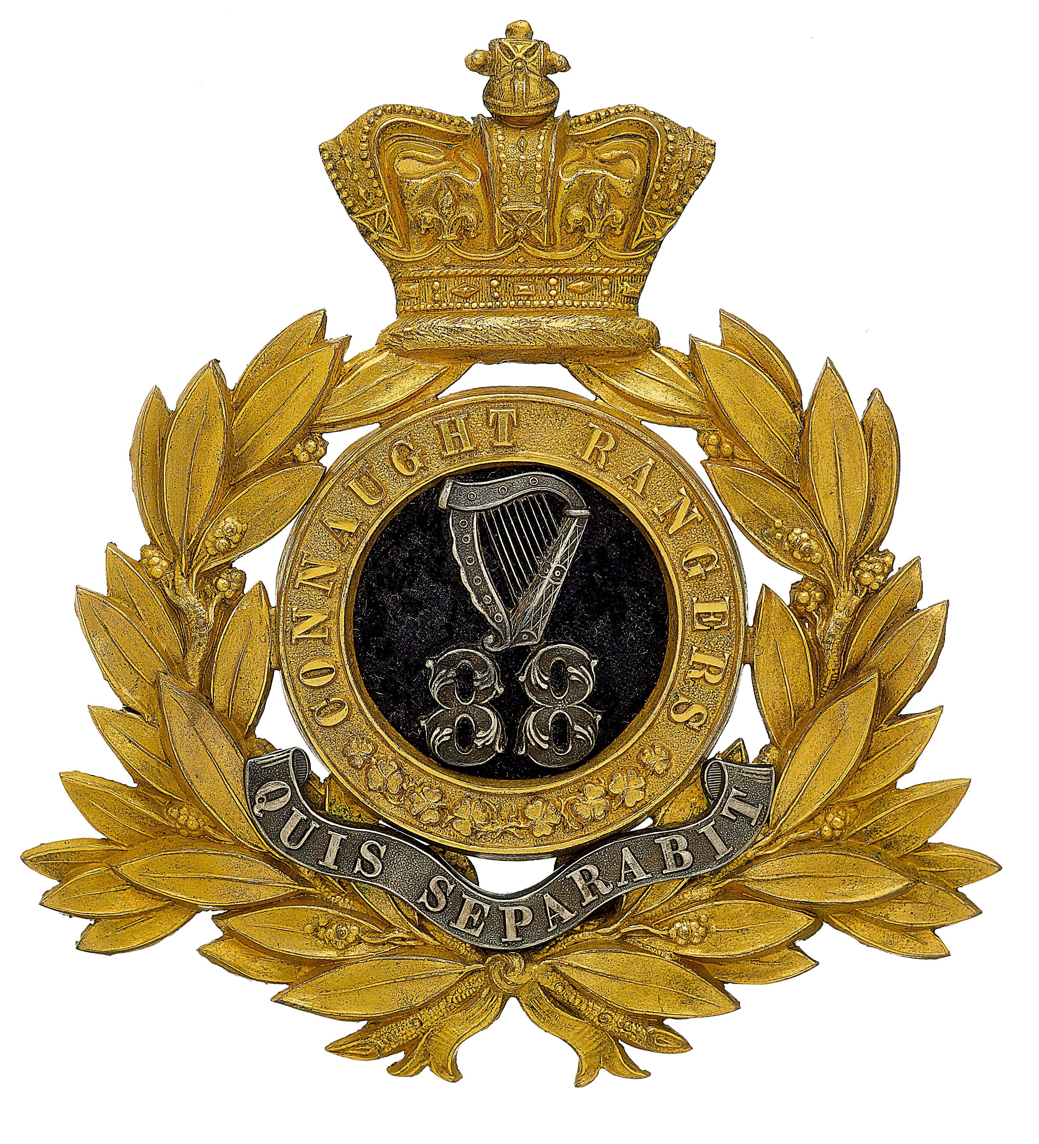 Connaught Rangers British Army Pin Insignia