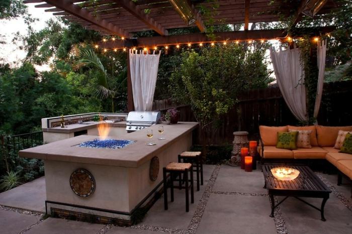 1001 Ideen Fur Outdoor Kuche Einrichtung Und Gestaltung Outdoor Kuche Terassenideen Kuche Einrichten