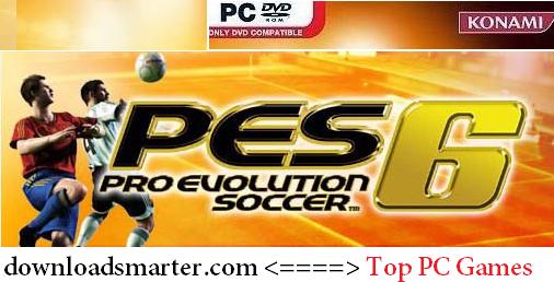Pro Evolution Soccer 6 PC Best Football games Download
