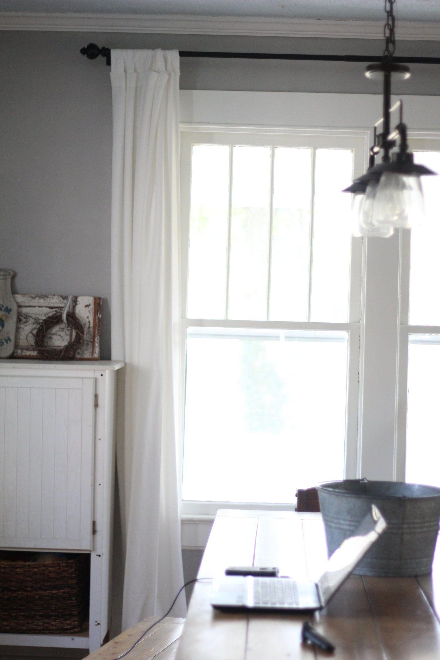 My Favorite Farmhouse Finds From IKEA | Living room decor ... on Farmhouse Dining Room Curtain Ideas  id=18362