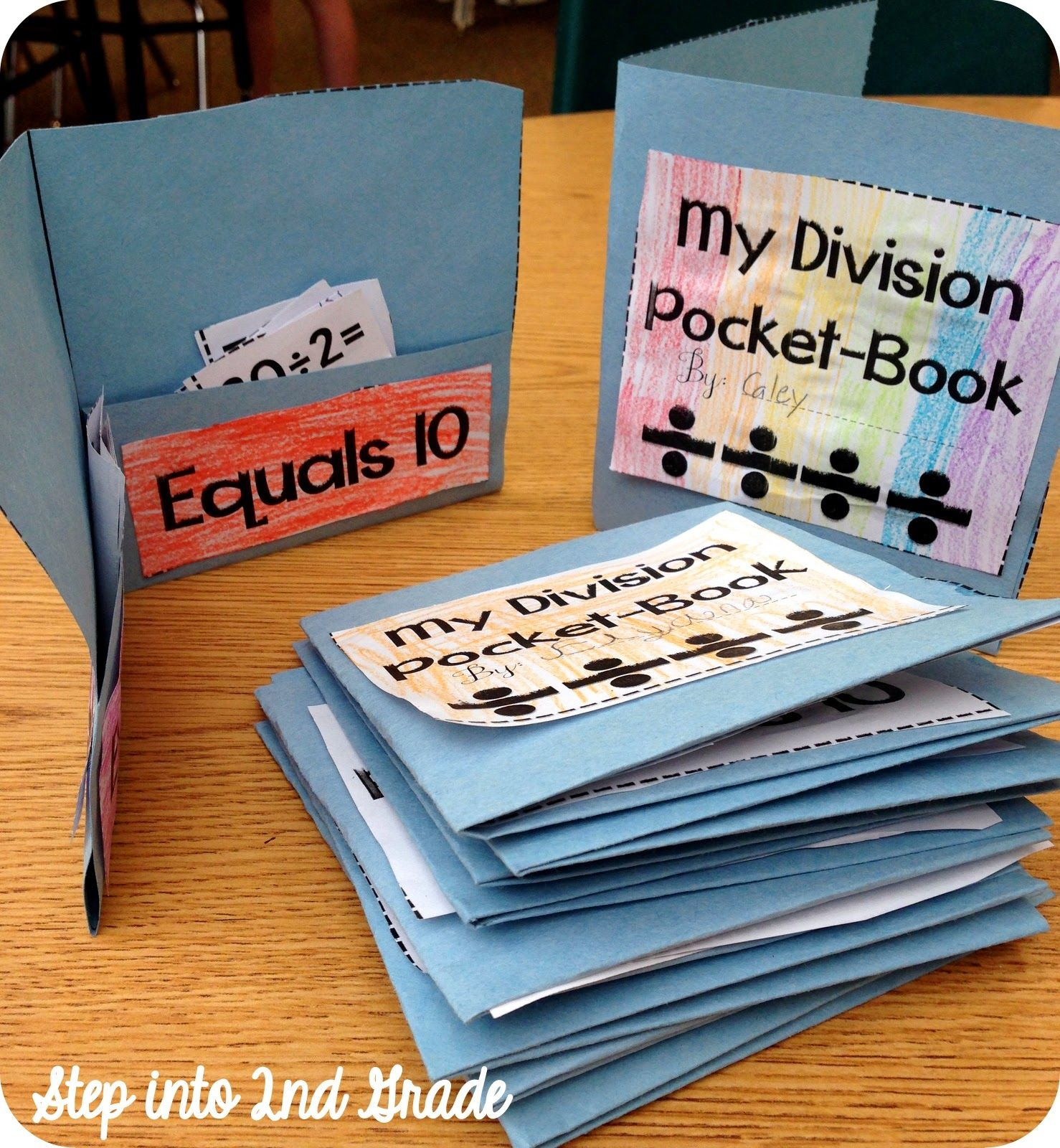 Step Into 2nd Grade With Mrs Lemons Division