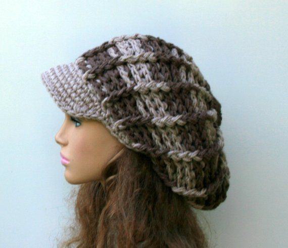 Neutral Visor Newsboy cap 1d61d26cbf9a
