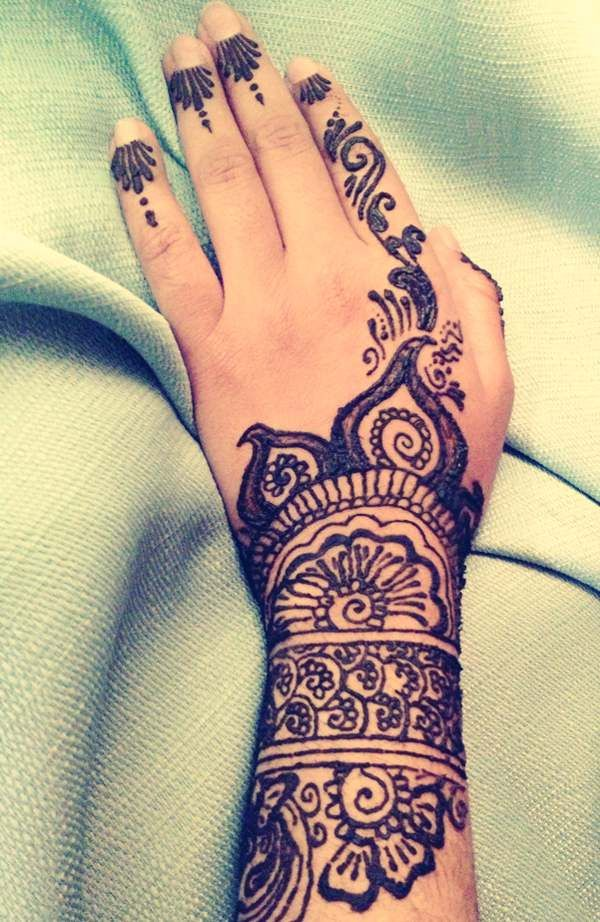 indian hand tattoos for women Full Hand Tattoo Designs
