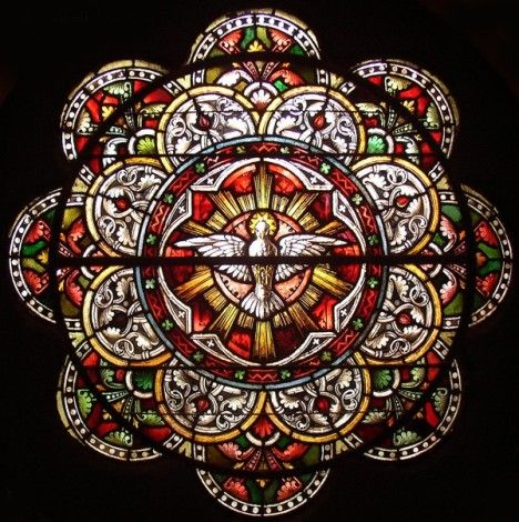 Stained Glass Conservation   Vitral - Stained glass conservation for Sacred Heart Cultural Center ...