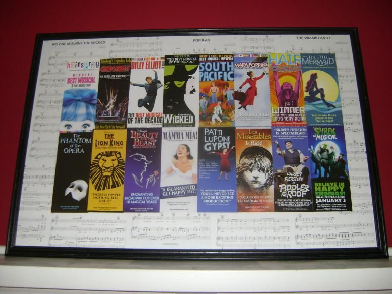 Smart Idea! I will have to do this with some of my Broadway Flyers ...