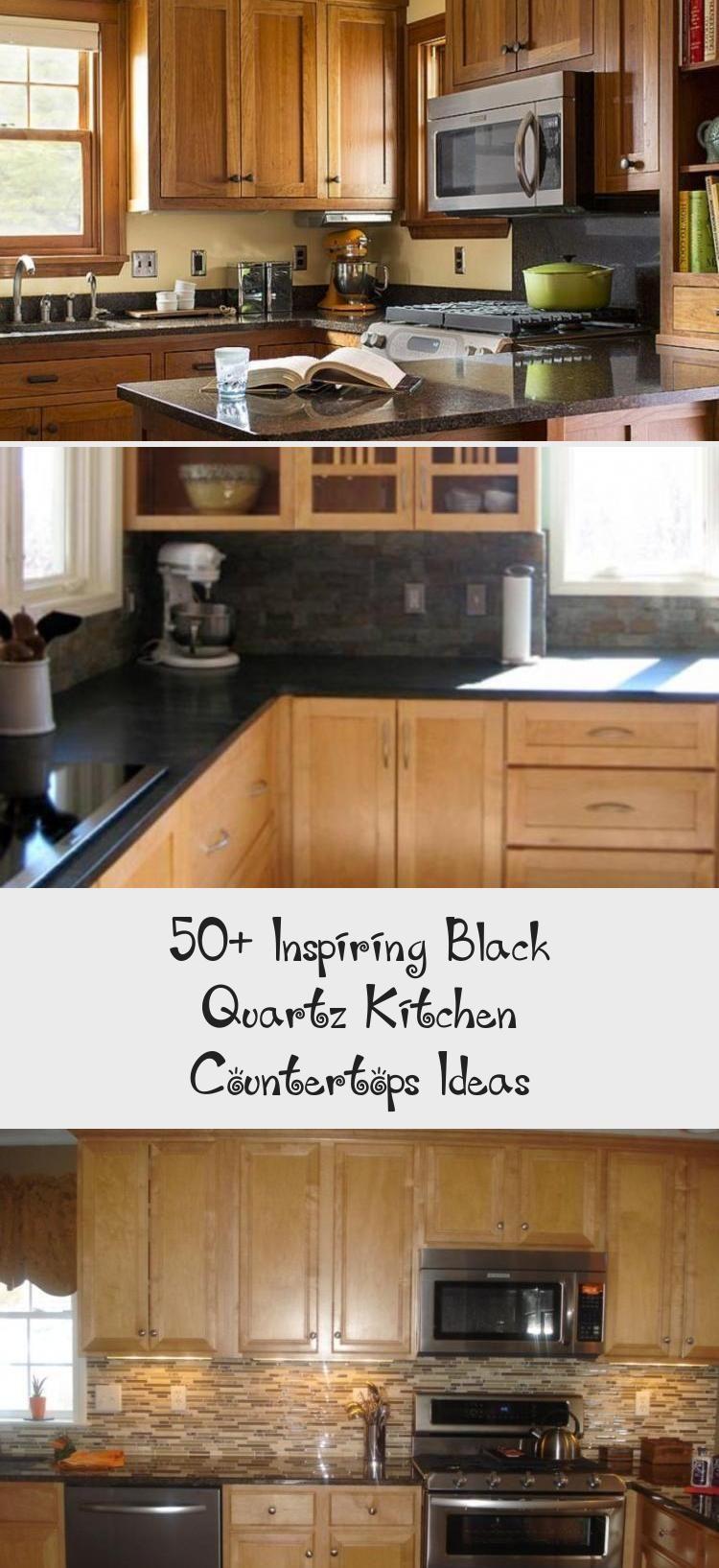 50 inspiring black quartz kitchen countertops ideas quartz kitchen countertops kitchen on kitchen decor black countertop id=26372