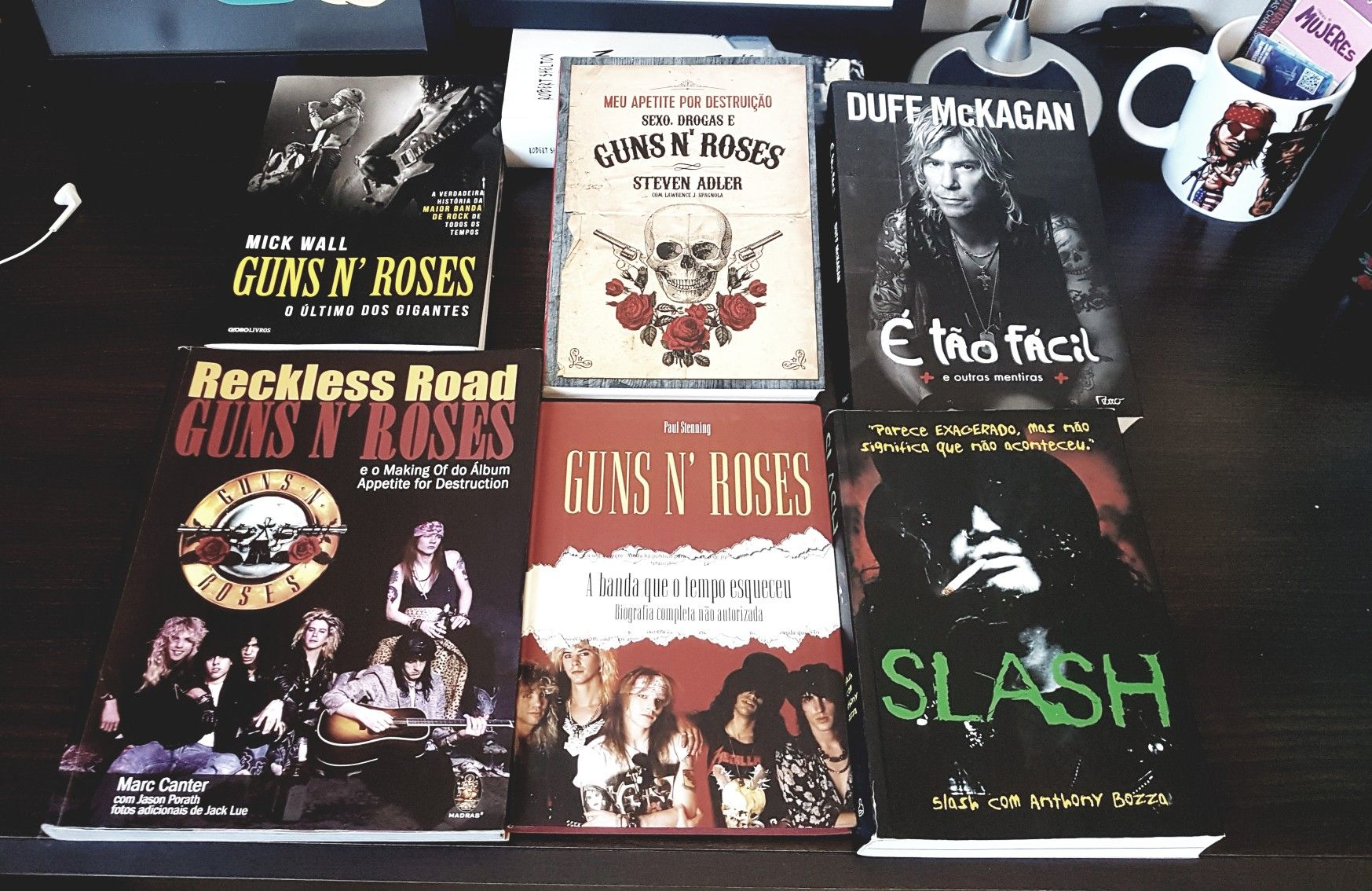 Books biography  #gunsnroses #collection