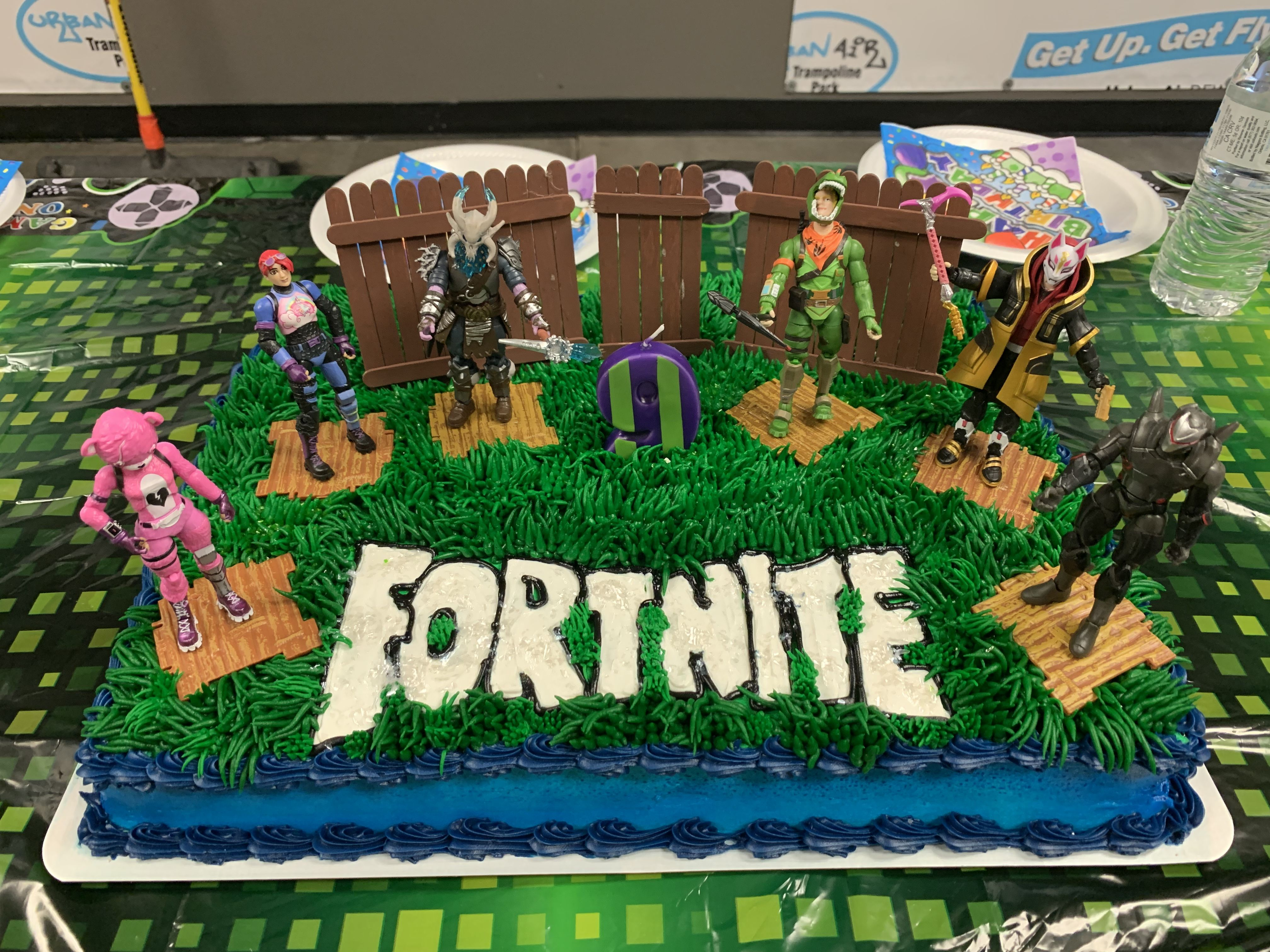 Don't pay hundreds for a custom cake! I bought this cake