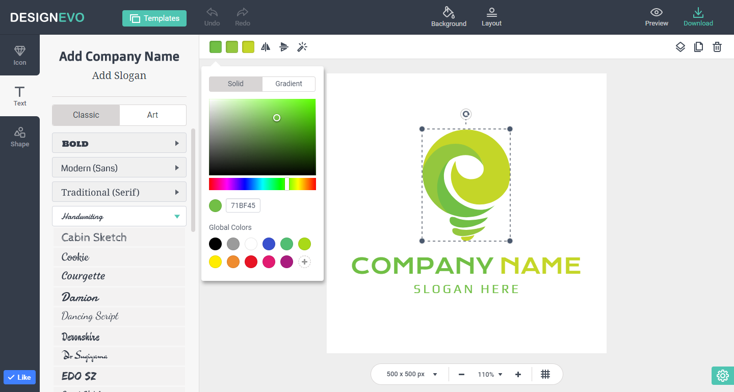 Best Free Online Logo Design Tool helps You Make Good Logo
