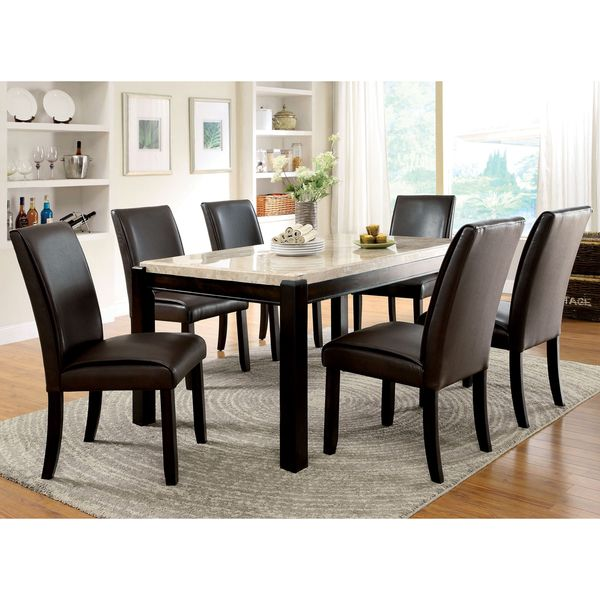 Overstock Com Online Shopping Bedding Furniture Electronics Jewelry Clothing More Dining Table Marble Marble Top Dining Table Modern Marble Dining Tables