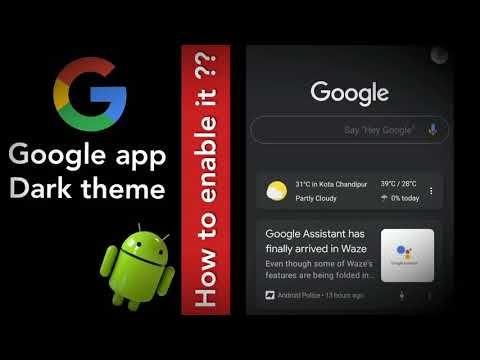 Google app dark themeDoes Google have a dark theme?Is
