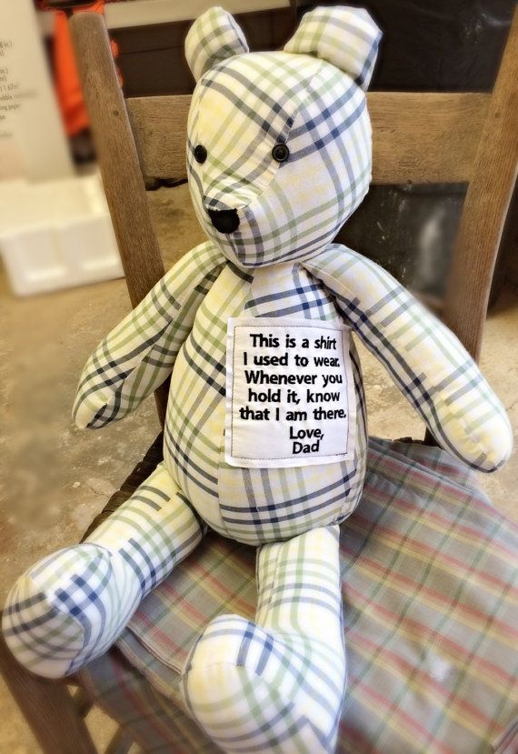 Pin By Rebecca Poma On For My Boys Memory Pillows Teddy