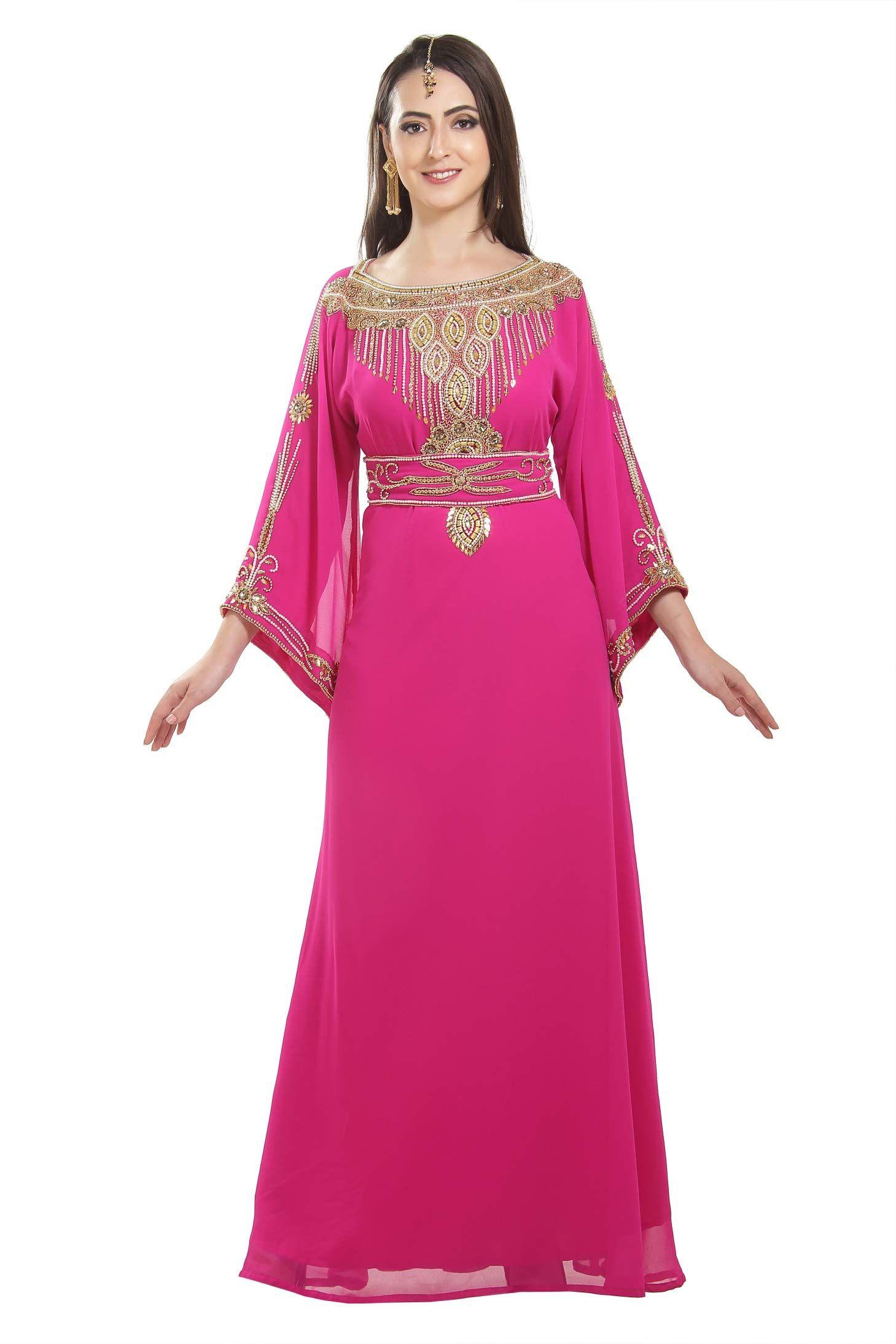 e4b977b40 Genie Aladdin Fancy Maxi Dress Evening Wear Night Gown for Arabian Ladies  7170