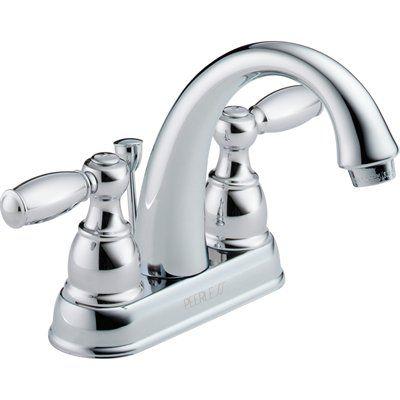 Peerless Chrome 2-Handle 4-in Centerset WaterSense LabeLED Bathroom ...