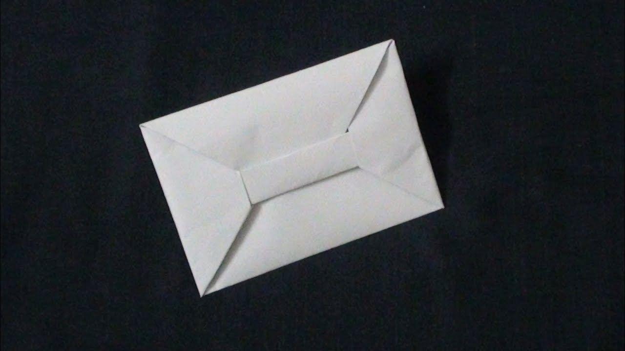Easy Paper Envelope Origami For Kids Paper Art Craft Paper