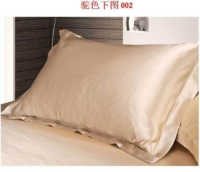 Best Silk Pillowcase For Hair 2016 New Double Face Envelope Pure Emulation Silk Satin Pillowcase