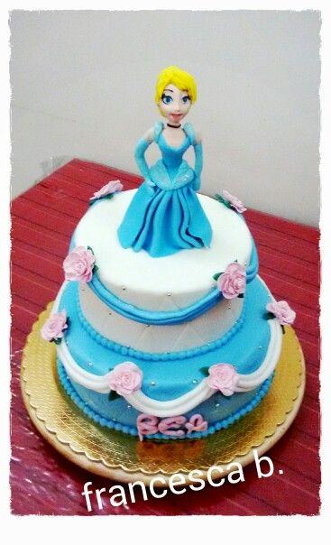 Principessa Cenerentola cake
