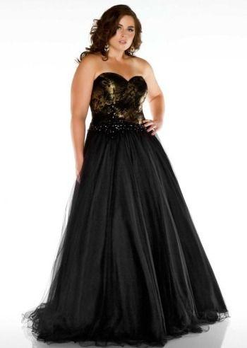 Black Plus Size Dresses 25004671 Plus Size Curvy Pinterest