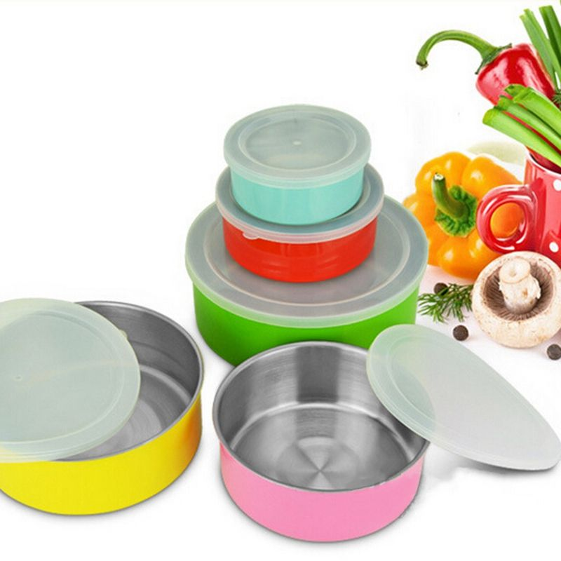 Set Food Crisper Reusable Storage Containers Set Kitchen Tool