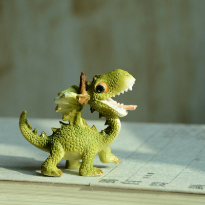 Happy Dragon. www.teeliesfairygarden.com . . . This dragon roaring is looking for his fairy partner! Where could she be? #dragons