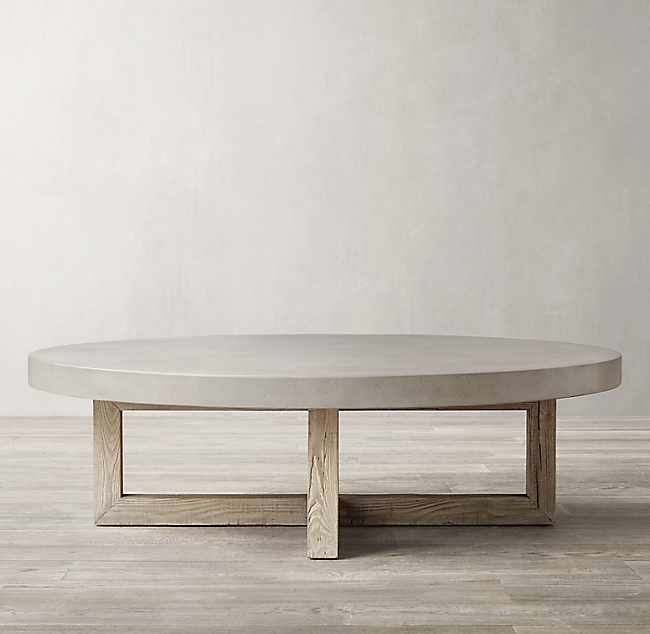 Heston Round Coffee Table With Images Round Coffee Table