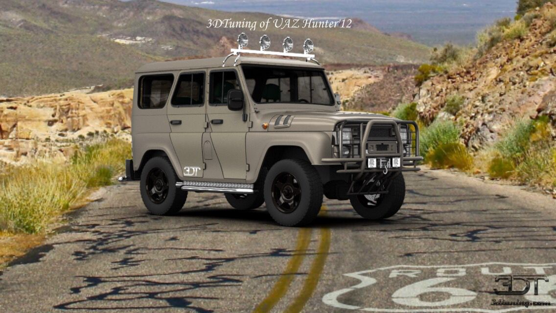 Uaz Hunter Made By Cody Squier Tuning Cars Pinterest