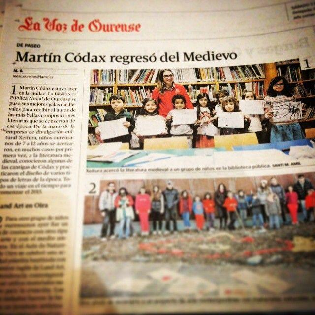 Martiño alumea o medievo na Biblioteca Pública de Ourense
