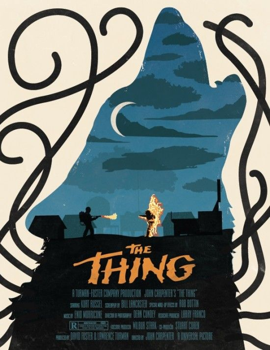 The Thing poster by Beware1984