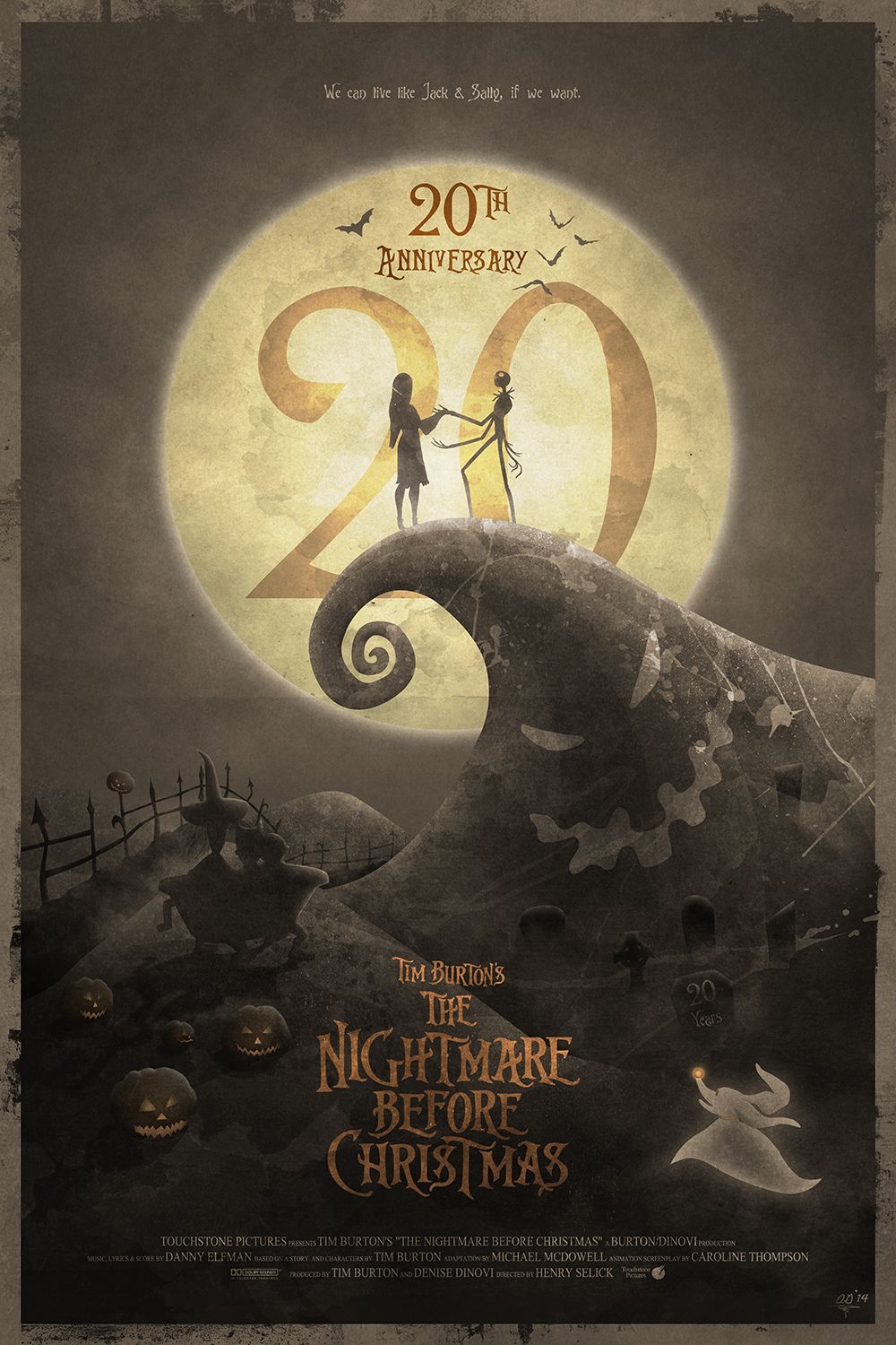 Pin by DeAnna on Art | Nightmare Before Christmas, Nightmare before ...
