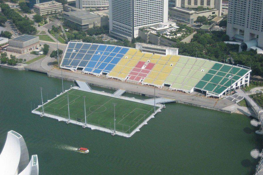 Marina Bay Stadium Singapore Stadium Football Stadiums Sports Stadium