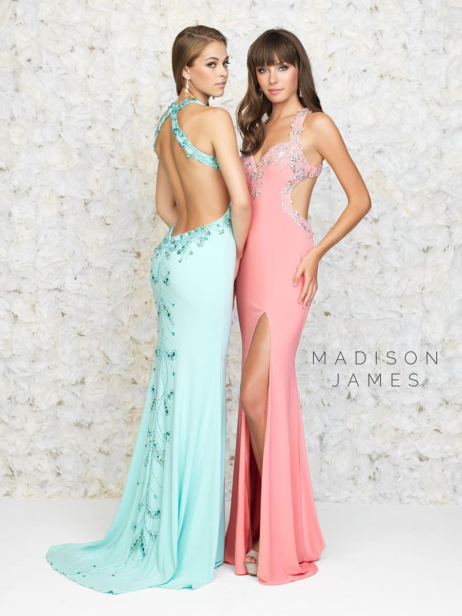 Madison James Prom Dresses NYC | Madison James Prom Gowns Long ...