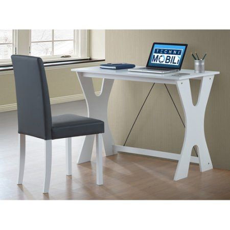 Admirable Techni Mobili Modern Matching Desk And Chair Set Colors Interior Design Ideas Clesiryabchikinfo