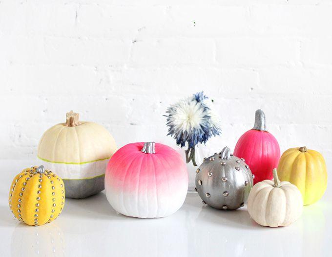 HOLIDAY DIY Pumpkin Decorating HALLOWEEN Pinterest Pumpkin