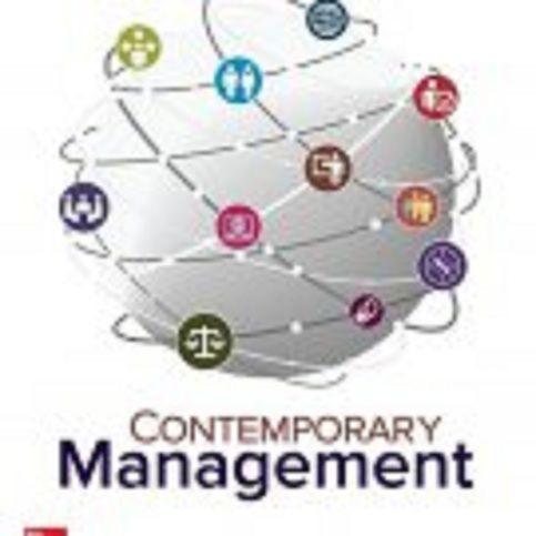 Contemporary Management Ebook
