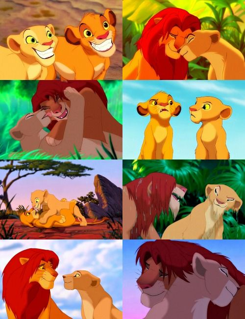Day 9: Favorite Couple: Nala and Simba