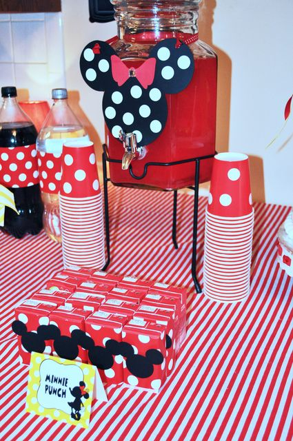 Mickey Mouse Clubhouse Or Minnie Mouse Birthday Party Ideas