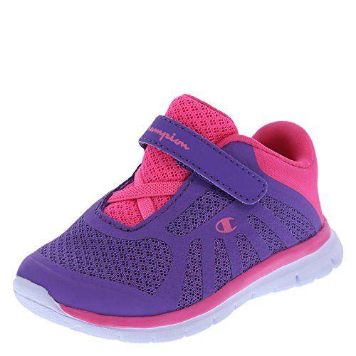 86cd642b0cfdce Child. Sneaker. Infants. Kid Shoes.  24.99 Champion Girls  White Pink  Girls  Infant Gusto Runner 1 - http