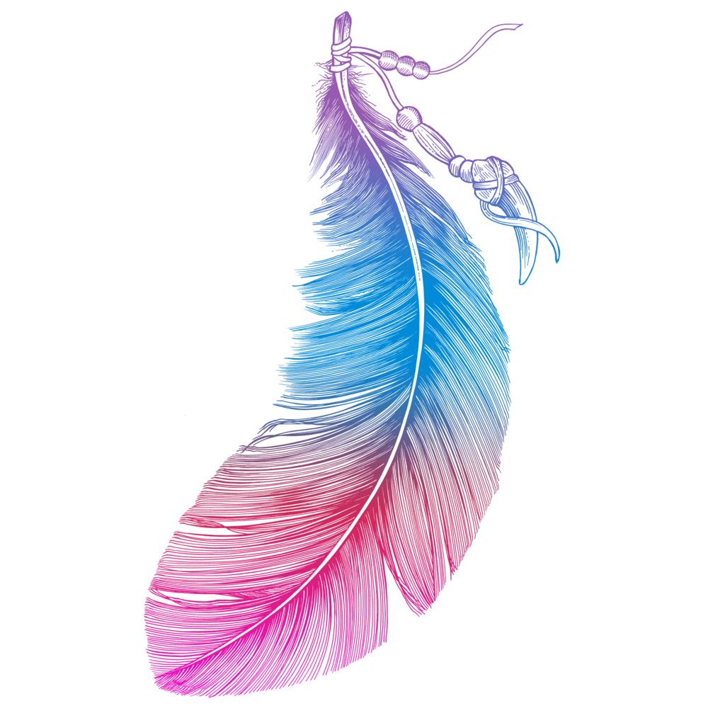 Rainbow Feather by RachelCaldwell