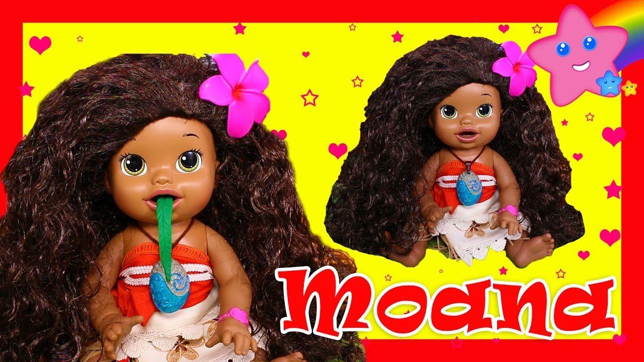 Moana Custom Baby Alive Eats Play Doh Treats Poops Surprise Blind Bag Toys Baby Alive Custom Baby Ariel The Little Mermaid